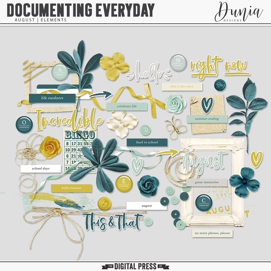 Documenting Everyday | August - Elements