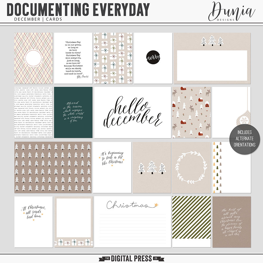 Documenting Everyday | December - Cards