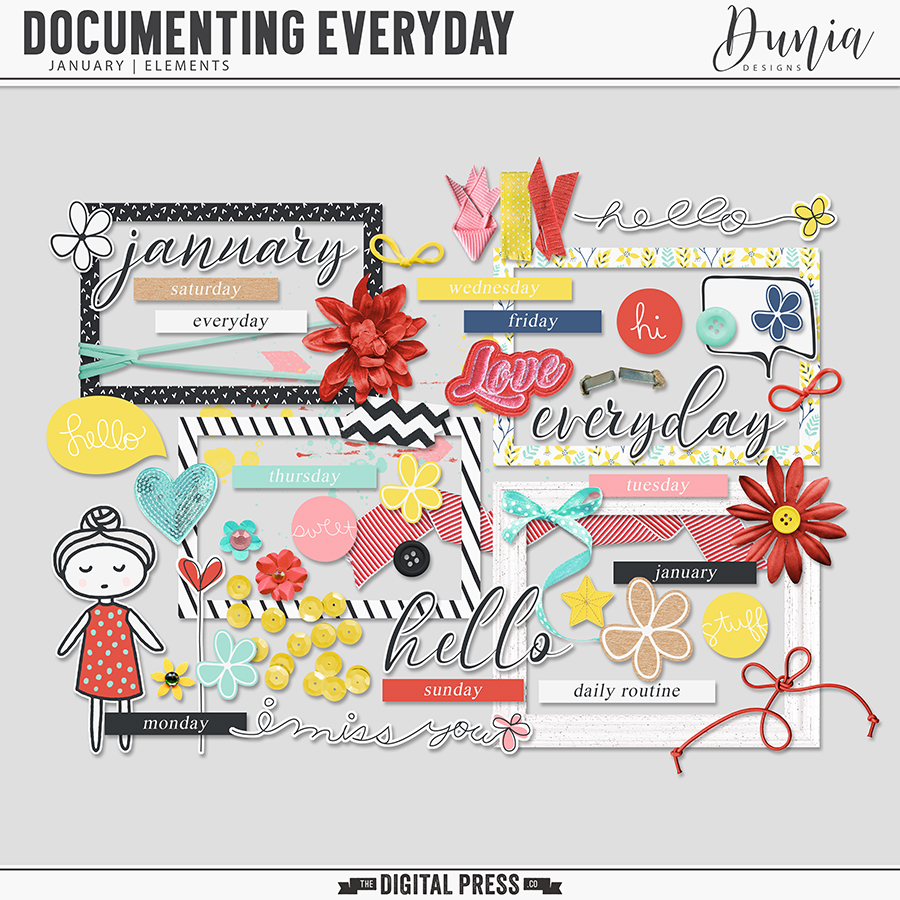 Documenting Everyday | January - Elements
