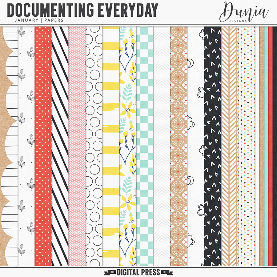 Documenting Everyday | January - Papers