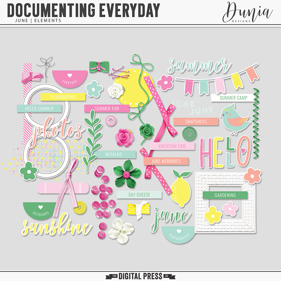 Documenting Everyday | June - Elements