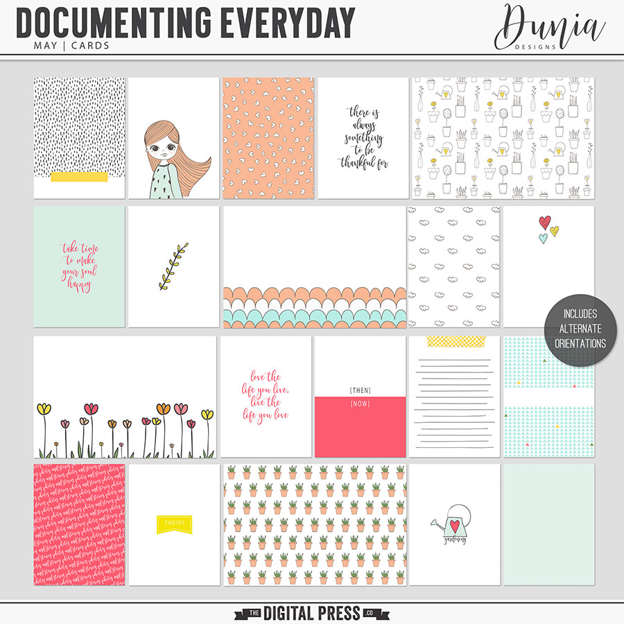 Documenting Everyday | May - Cards