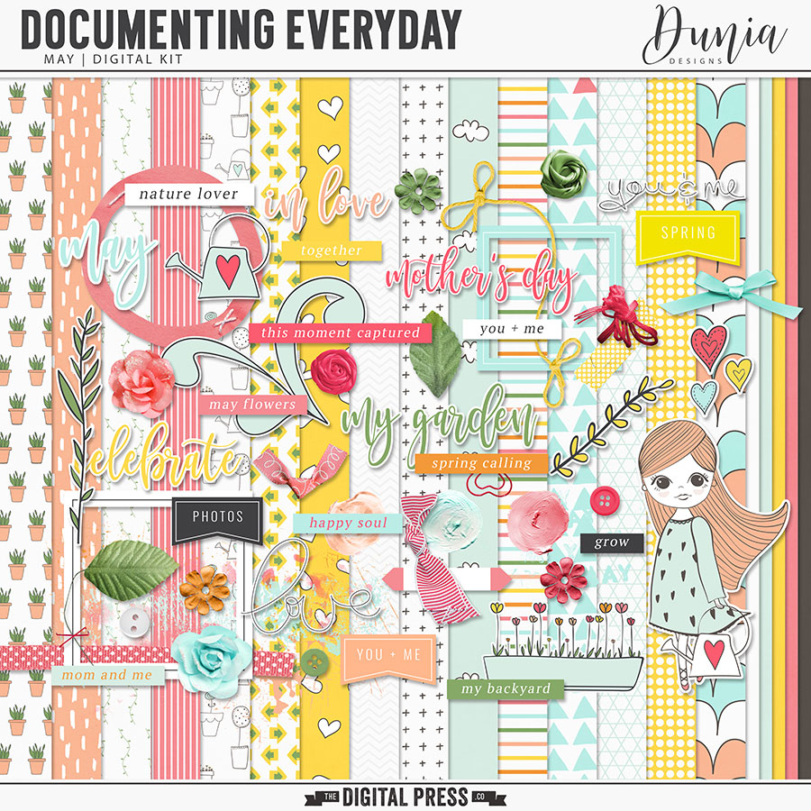 Documenting Everyday   May - Kit