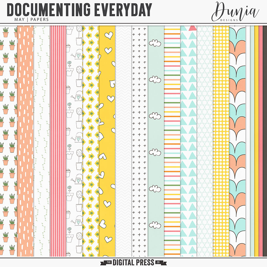 Documenting Everyday | May - Papers