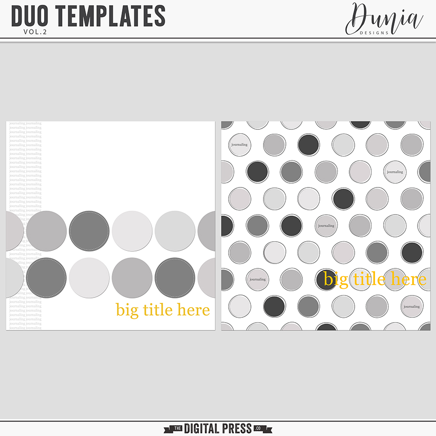 Duo Templates | Vol.2