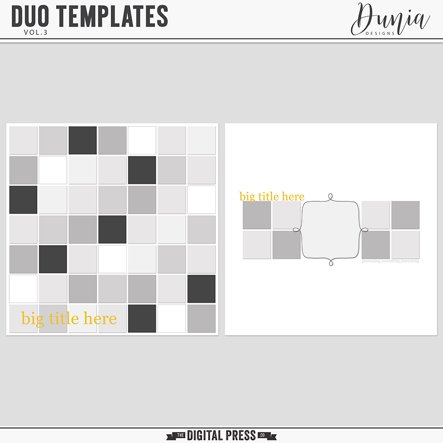 Duo Templates | Vol.3