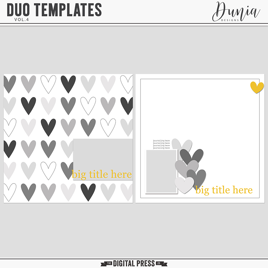 Duo Templates | Vol.4
