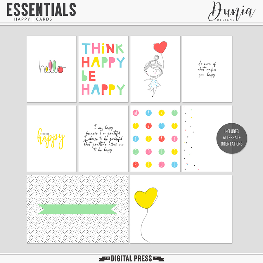 Essentials | Happy - Cards