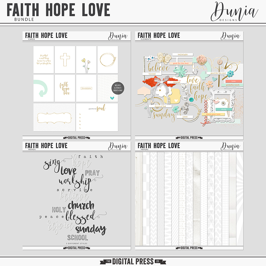 Faith Hope Love | Bundle
