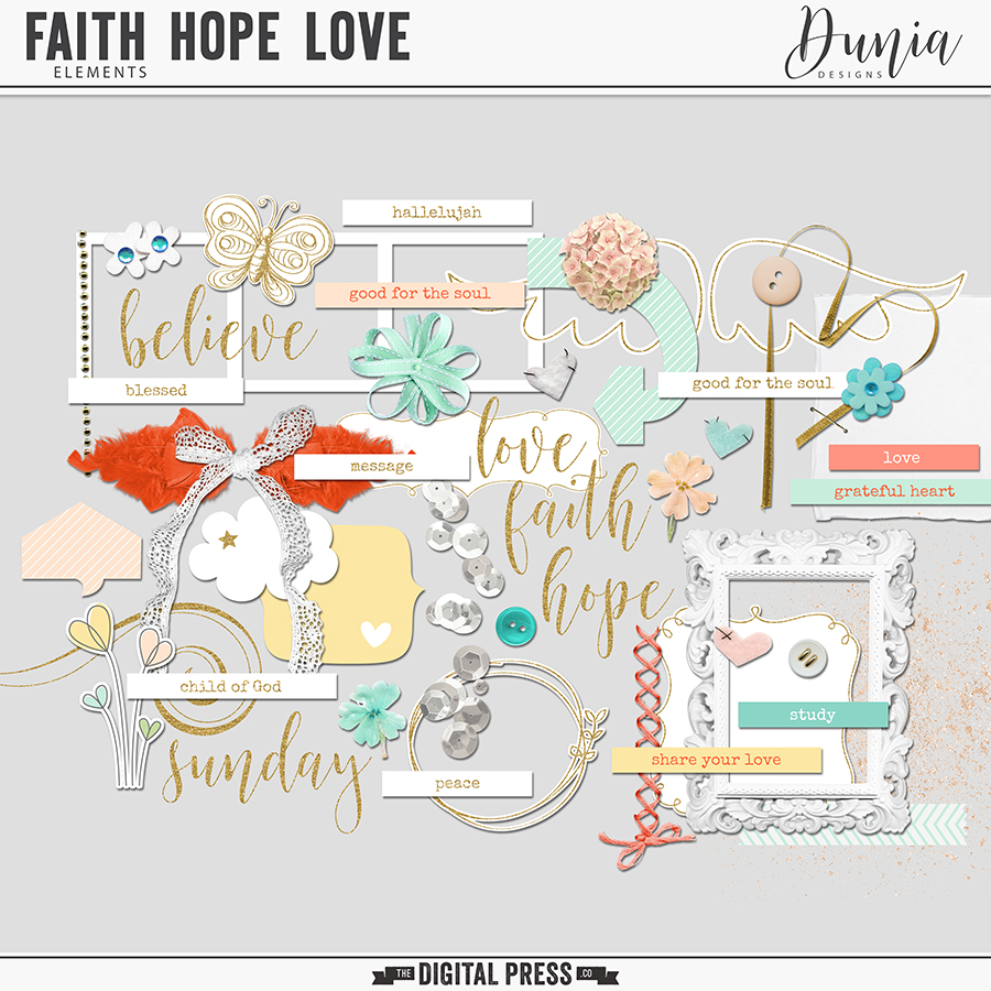 Faith Hope Love | Elements