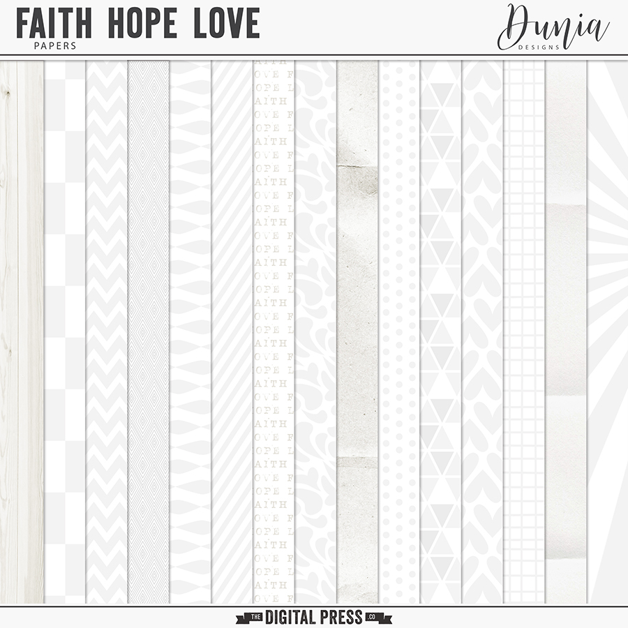 Faith Hope Love | Papers