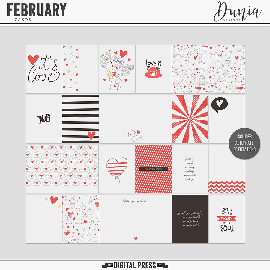February | Cards