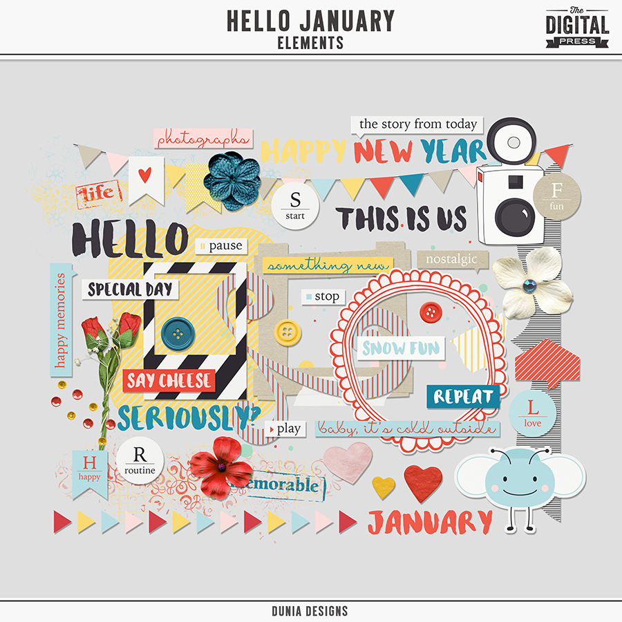 Hello January | Elements