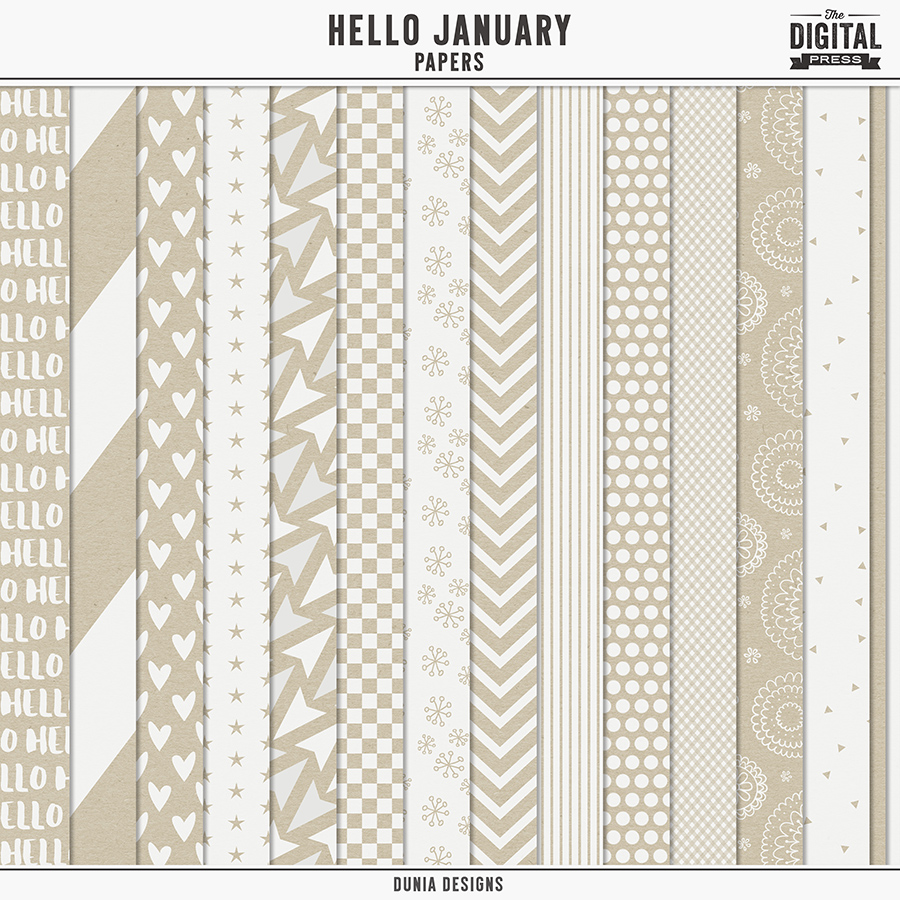 Hello January   Papers
