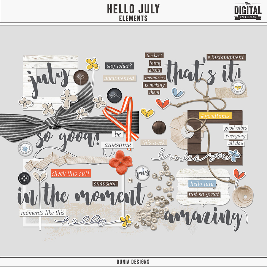 Hello July - Elements