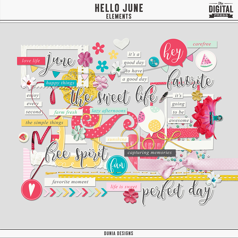 Hello June | Elements