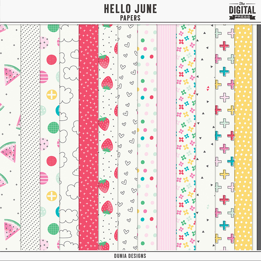 Hello June - Papers