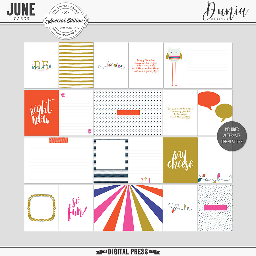 June | Cards