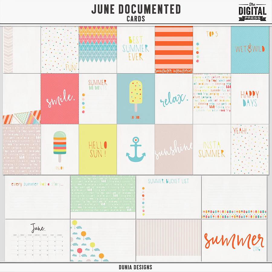 June Documented | Cards