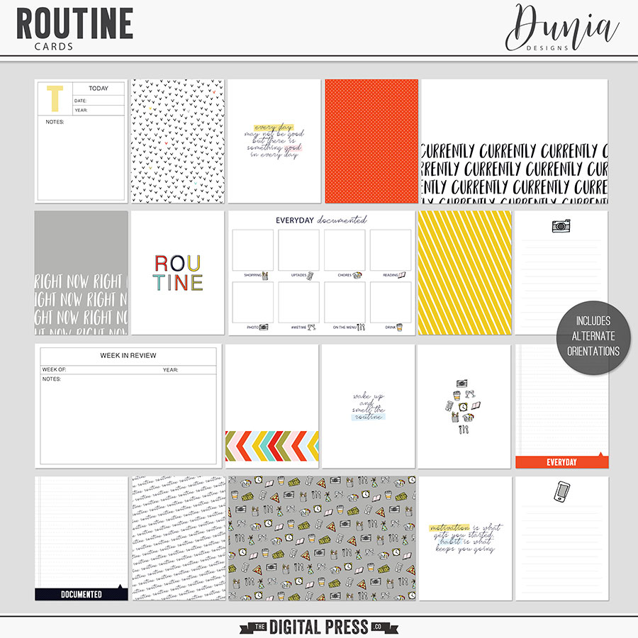 Routine | Cards