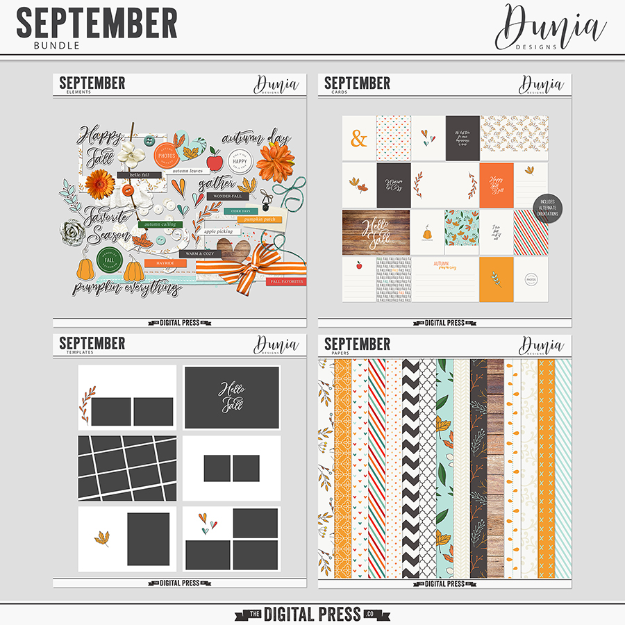 September | Bundle
