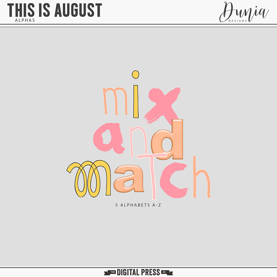 This is August | Alphas