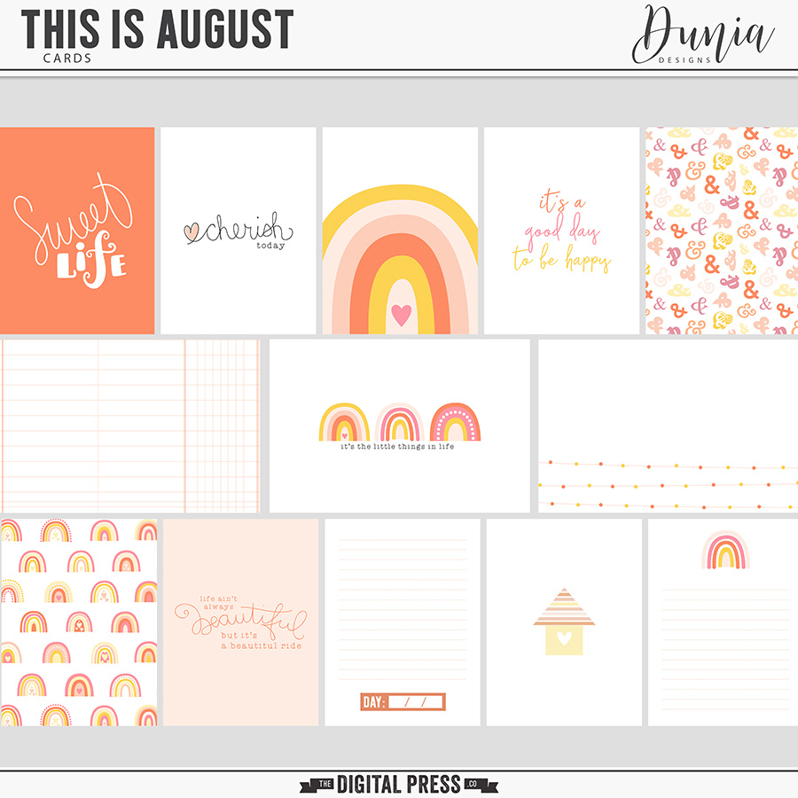 This is August | Cards