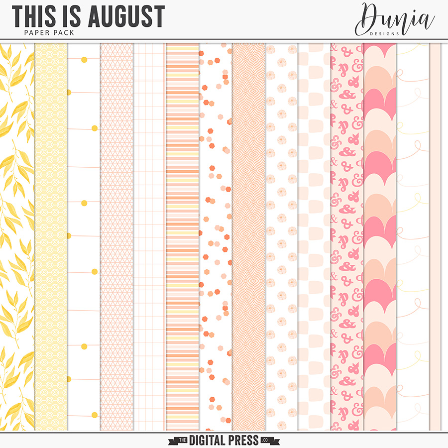 This is August | Papers