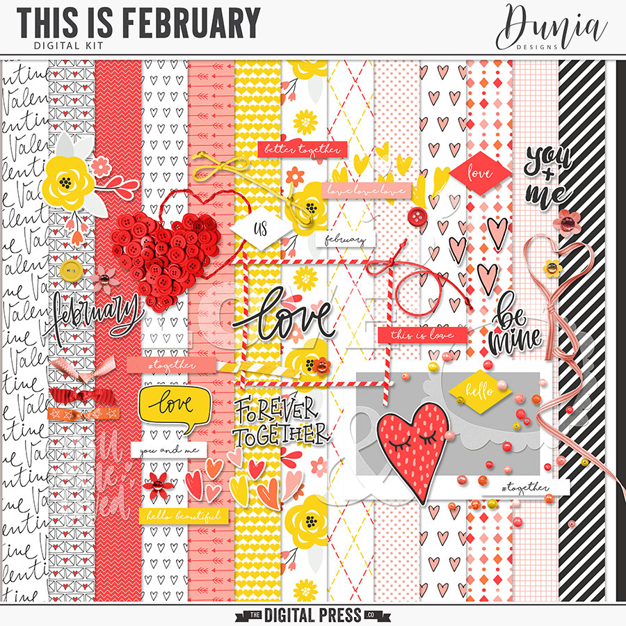 This is February   Kit