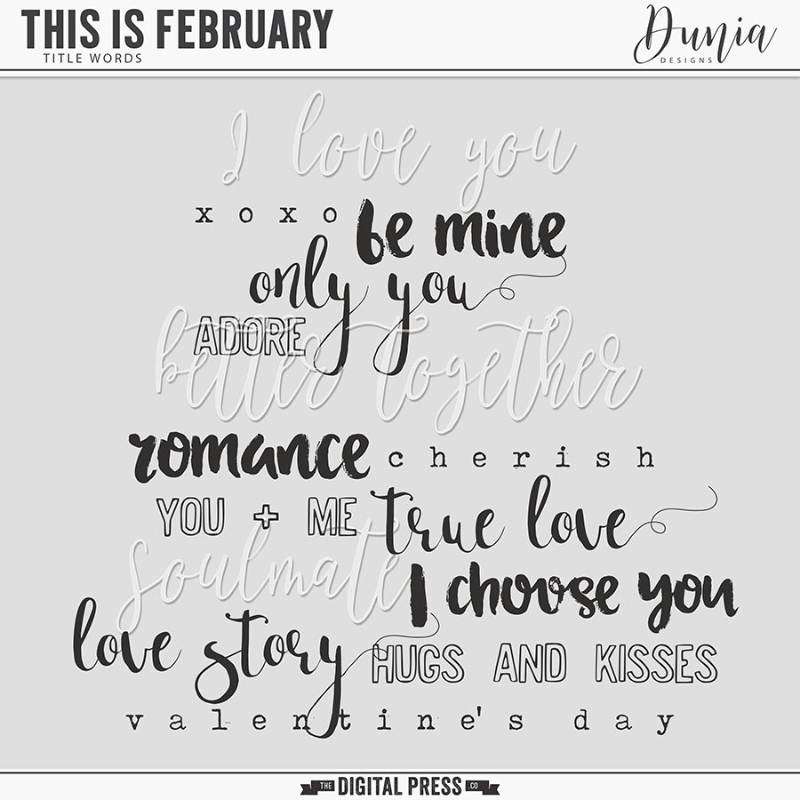 This is February   Title Words