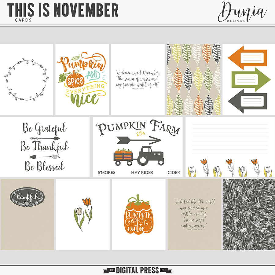 This is November | Cards