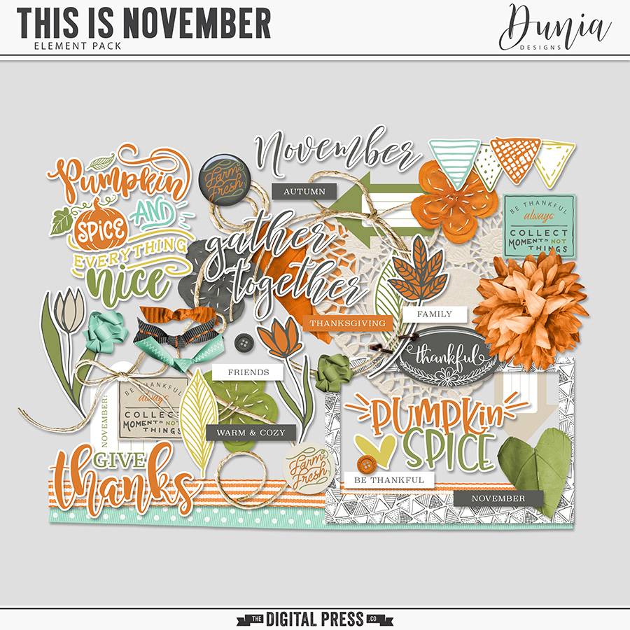 This is November | Elements