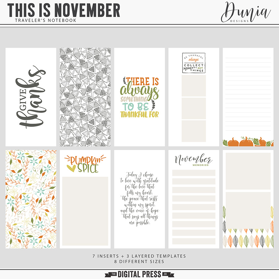 This is November | Traveler's Notebook