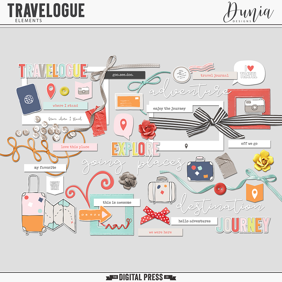 Travelogue | Elements