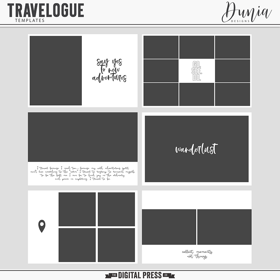 Travelogue | Templates