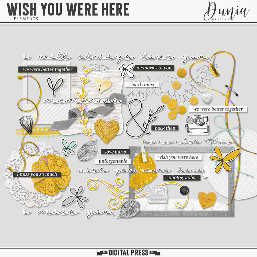 Wish You Were Here   Elements