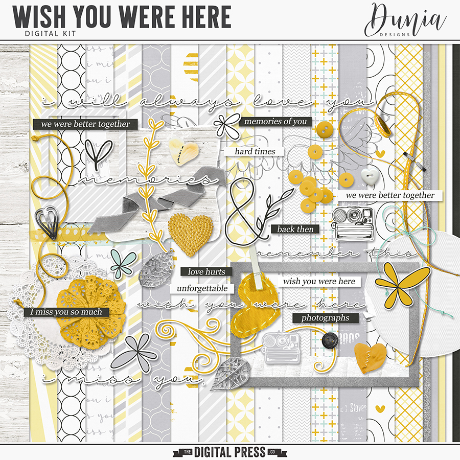 Wish You Were Here | Kit