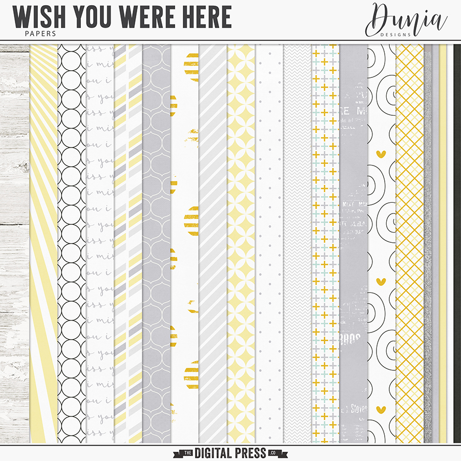 Wish You Were Here | Papers