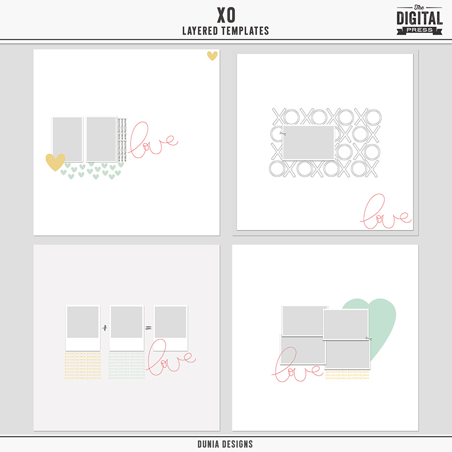 XO | Layered Templates