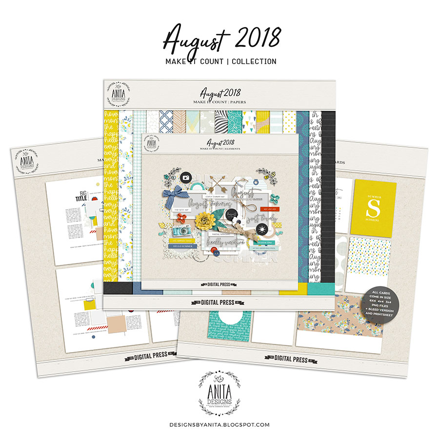 Make it Count: August 2018 | Collection