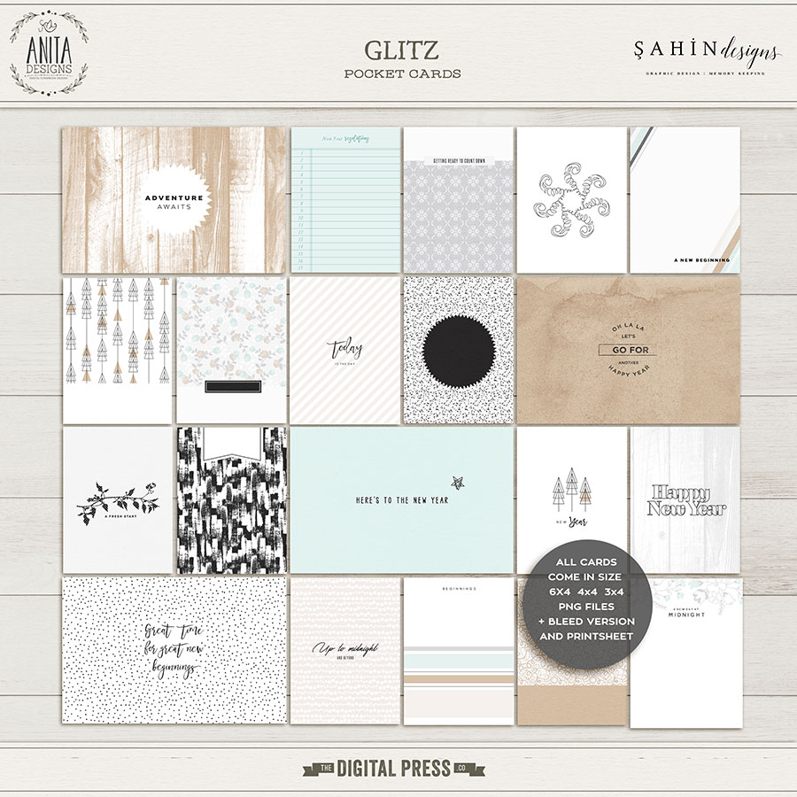 Glitz | Pocket cards