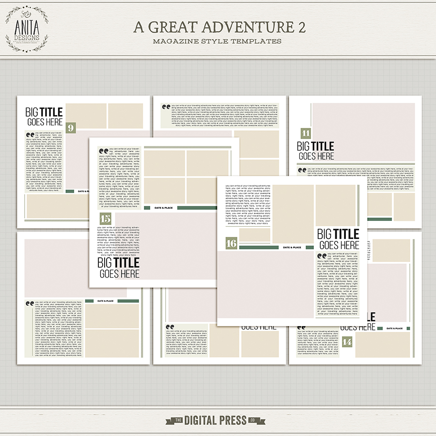 A great adventure | Templates 02
