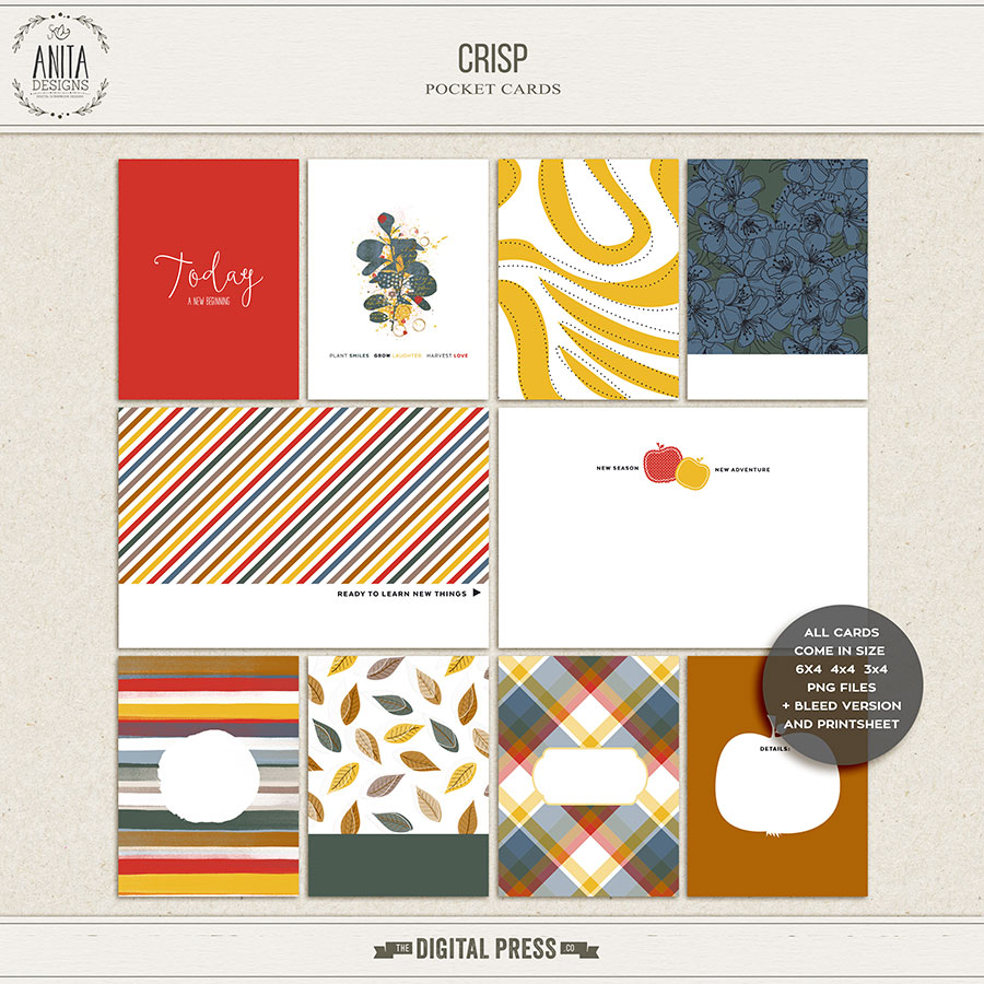Crisp | Pocket cards