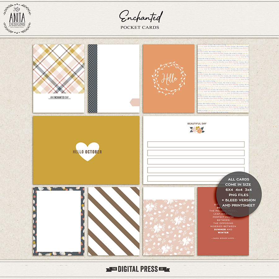 Enchanted | Pocket cards