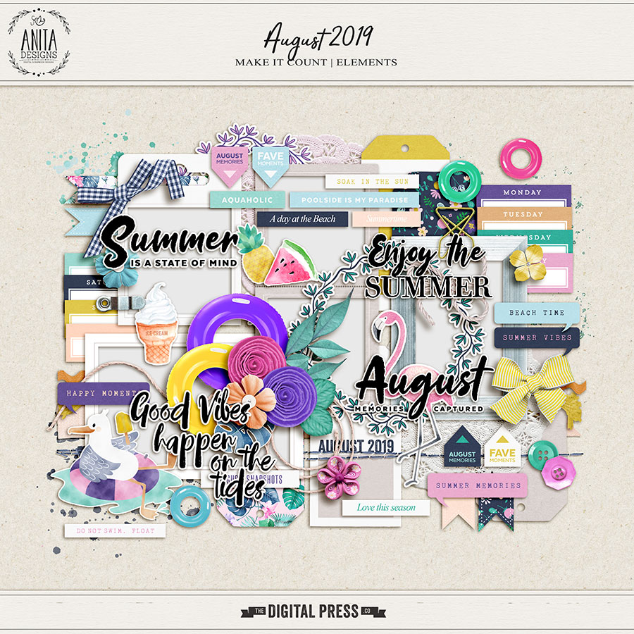 Make it Count: August 2019 | Elements