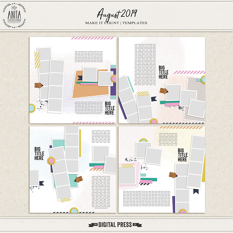 Make it Count: August 2019 | Templates