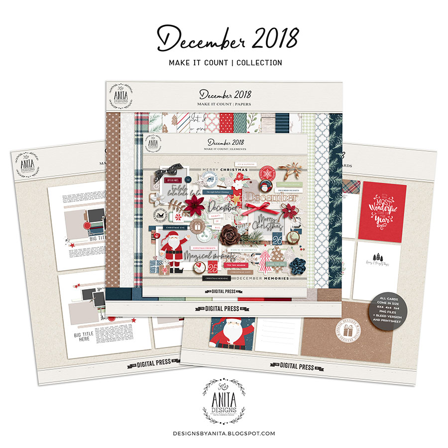 Make it Count: December 2018   Collection