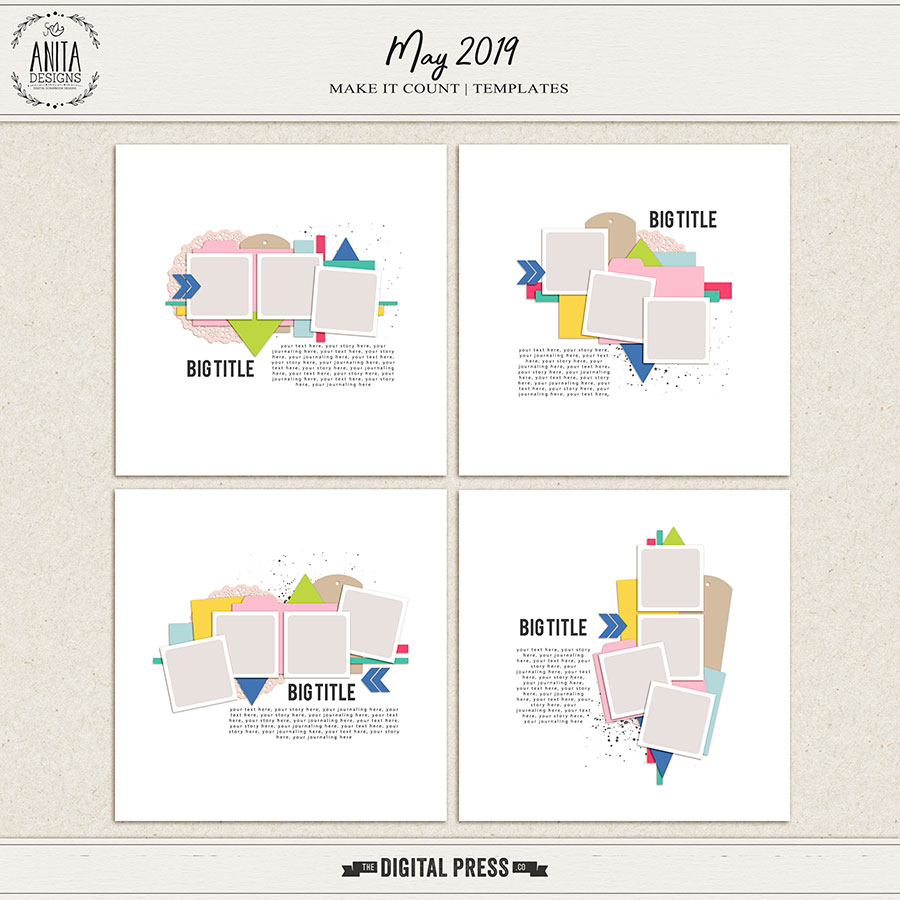 Make it Count: May 2019 | Templates