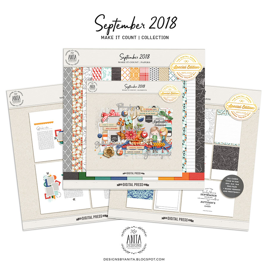 Make it count: September 2018 | collection