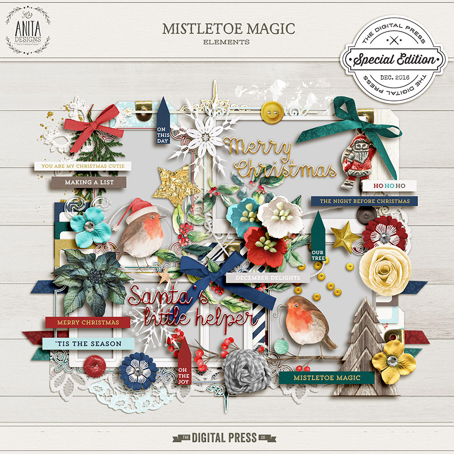 Mistletoe Magic | Elements